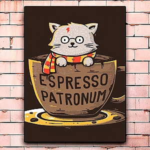 Постер «Espresso patronum» средний