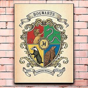 Постер «Hogwarts» средний