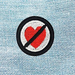 Нашивка «No love»