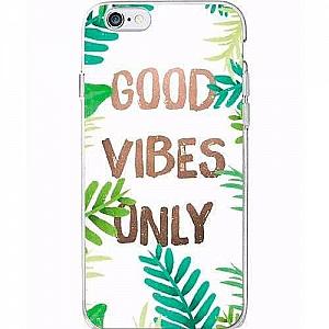 Чехол для iPhone «Good vibes only»