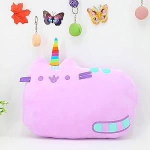 Мягкая игрушка-подушка «Фиолетовый кот Пушин»