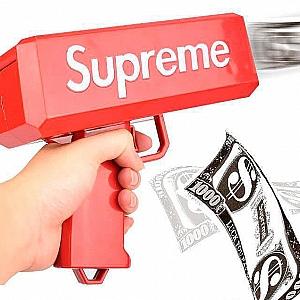 Денежный пистолет «Supreme»