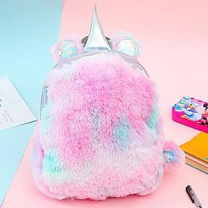 Голографический рюкзак «Радужный единорог»