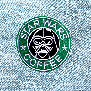Нашивка «Star wars coffee»