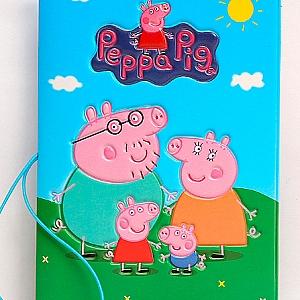 Обложка на паспорт «Свинка Пеппа»
