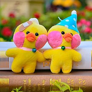 Мягкий брелок «Lalafanfan duck»
