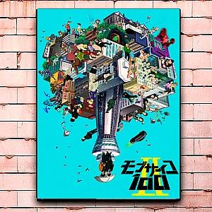 Постер «Моб Психо 100» средний