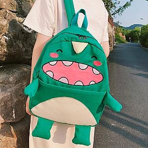Рюкзак «Зеленый динозавр»