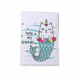 Обложка на паспорт «Hello my friends»
