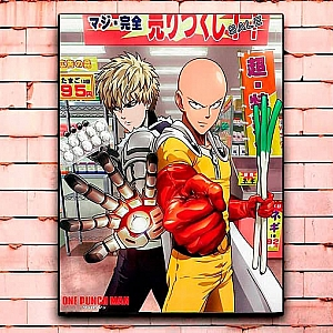 Постер «One Punch-Man» средний
