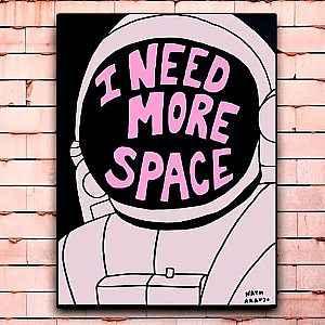 Постер «I need more space» большой