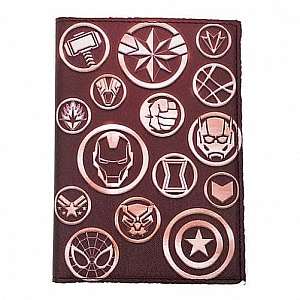 Обложка на паспорт «Superhero»