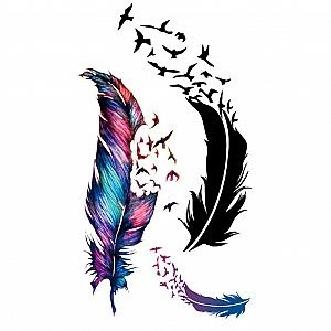 Временная татуировка «Дуновение»