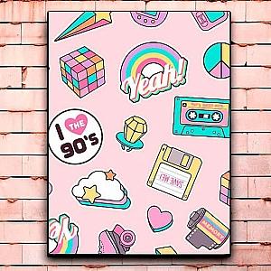 Постер «Лихие 90-е» большой