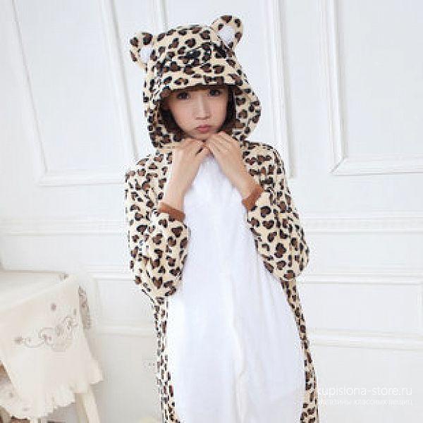 Костюм-кигуруми «Леопард»