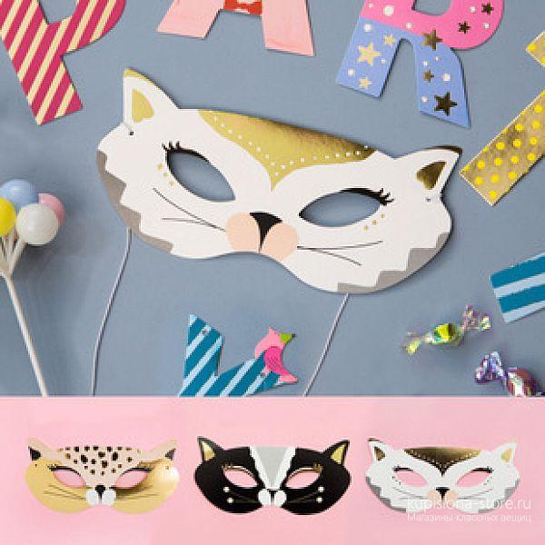 Маскарадная маска «Secretive cat»