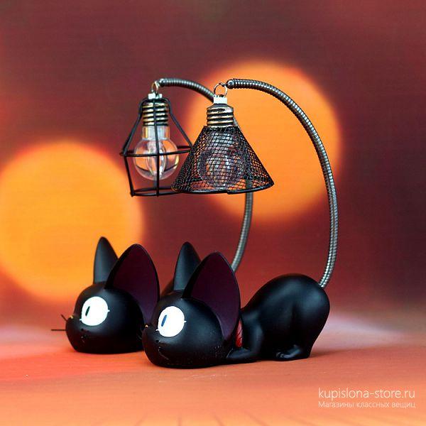 Светильник «Черный кот»