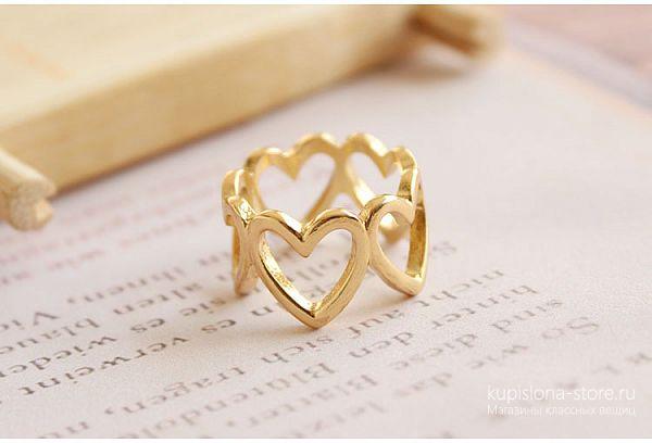 Кольцо «Hearts»