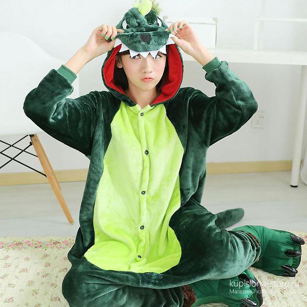 Костюм-кигуруми «Динозавр»