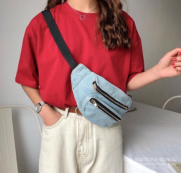 Поясная сумка «Jeans»