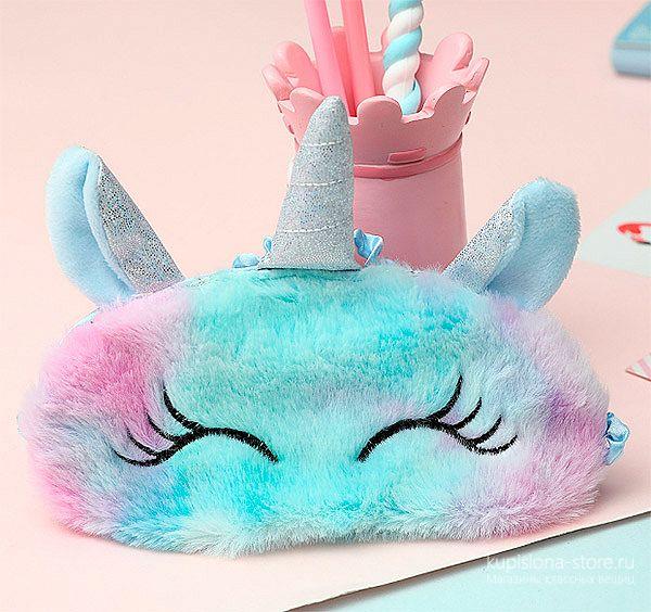 Маска для сна «Cute unicorn»