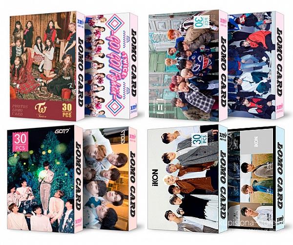 Набор почтовых открыток «K-pop группы»