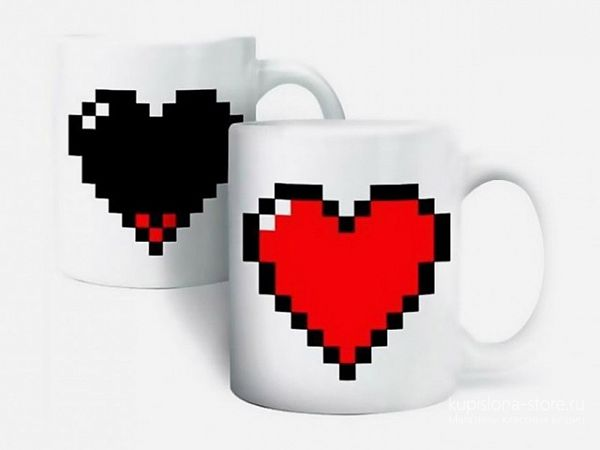Кружка с терморисунком «Heart»