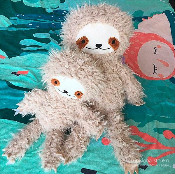 Мягкая игрушка «Лохматый ленивец»