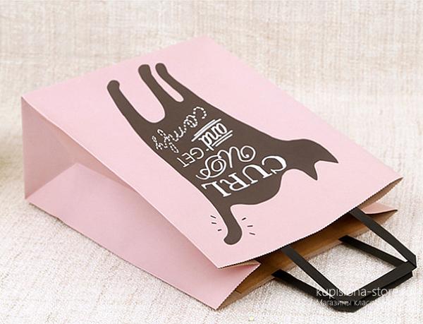 Подарочный пакет «Wishes» большой