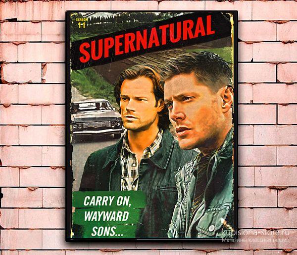 Постер «Supernatural» средний