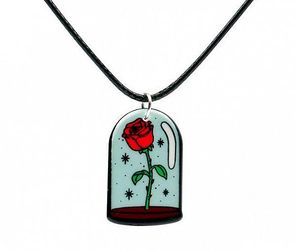 Подвеска «Красная роза»
