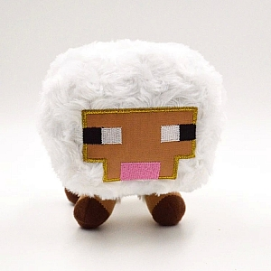 Мягкая игрушка «Овца из Minecraft»