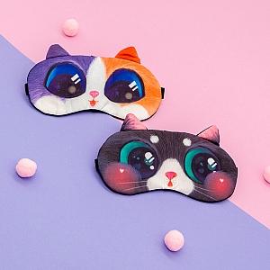 Маска для сна «Кавайный котик»