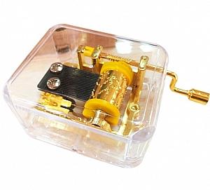 Музыкальная шкатулка «Gold»