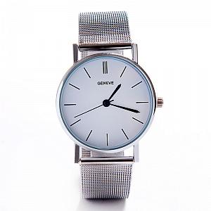 Наручные часы «Geneve», серебряные