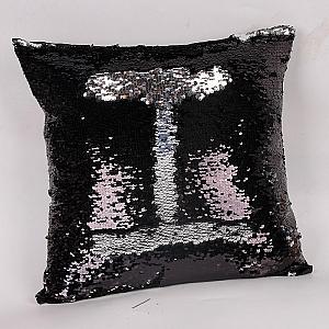 Подушка с двусторонними пайетками