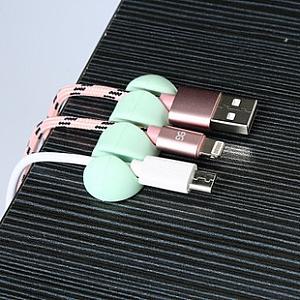 Держатель для проводов на липучке (2 штуки)