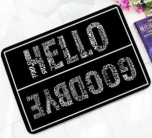 Коврик «Hello, Goodbye»