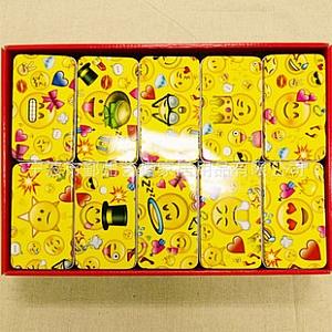 Металлическая коробочка «Emoji»