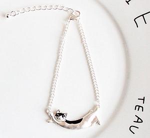 Браслет «Silver cat»