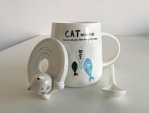 Кружка «Cat's happy day»