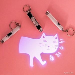 Брелок-лазер «Котик»