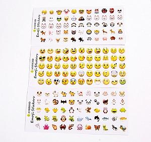 Набор наклеек «Emoji your life»