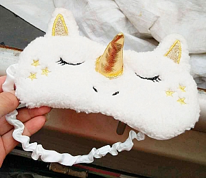 Маска для сна «White unicorn»