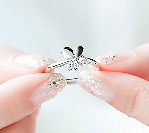 Кольцо «Silver butterfly»