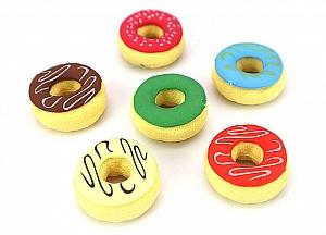 Набор стирательных резинок «Пончики»