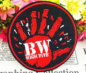 Нашивка «BW High five»