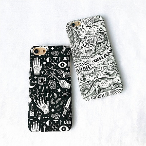 Чехол для iPhone «Магия и динозавры»