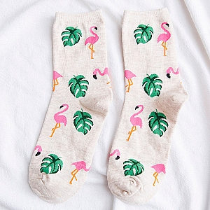 Носочки «Pink flamingo»