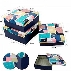 Подарочная коробка «Абстракция» маленькая